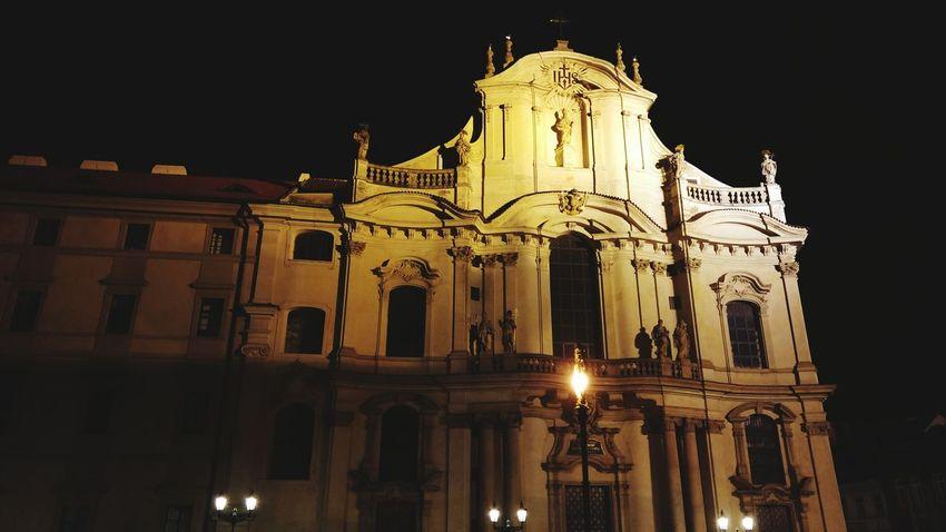 Prague City Night Lights LG G4 Summer Nights