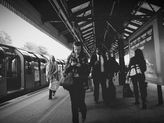EyeEm London at Ealing Broadway London Underground Station by Chris Prakoso