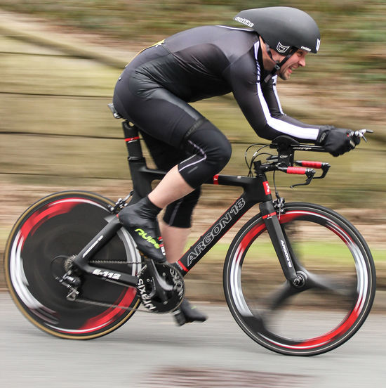 TT Race, Wales, UK Cycling Time Trialling