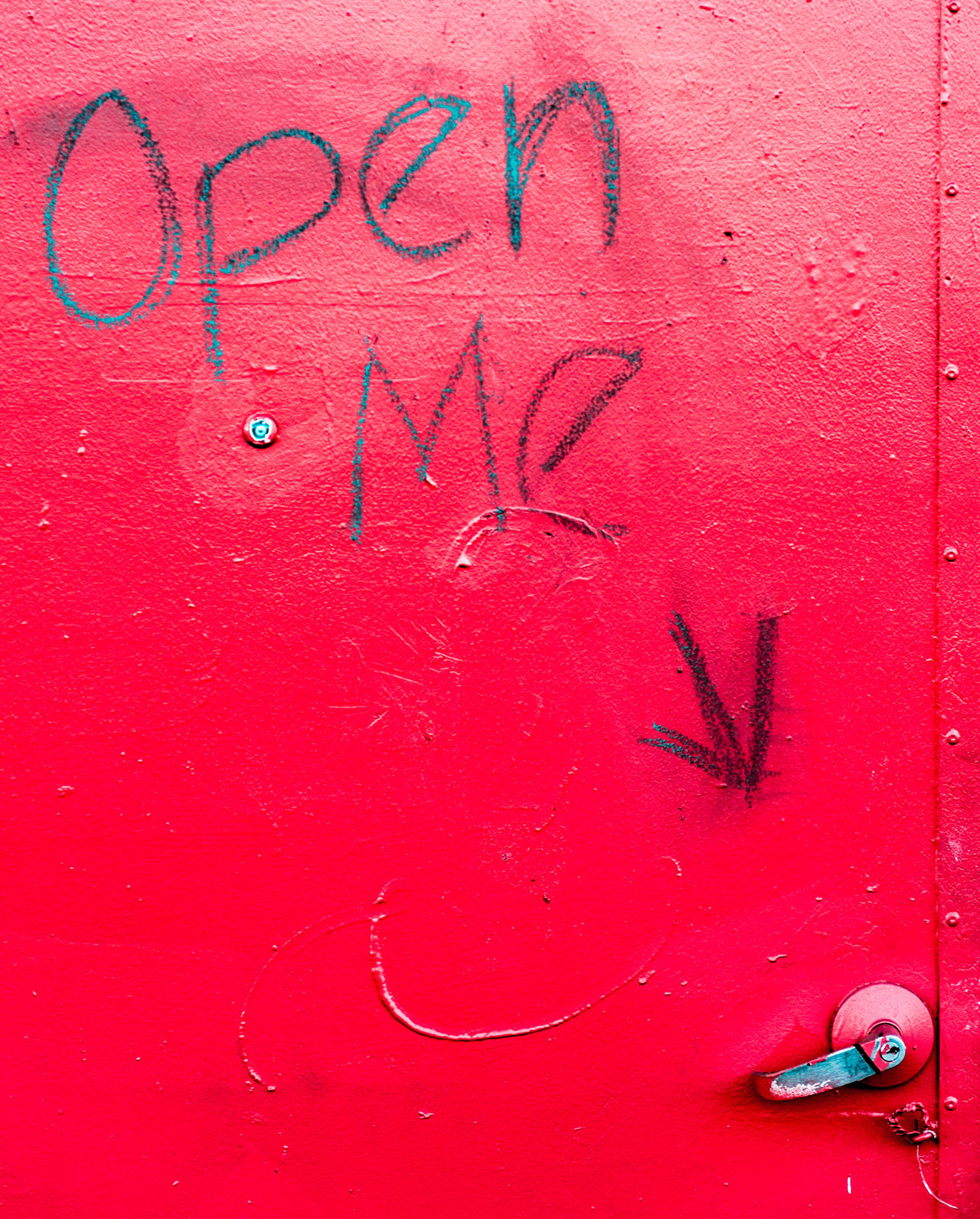 Alphabet Close-up Communication Day Handwriting  No People Open Me Red Spray Paint Text Wynwood Walls