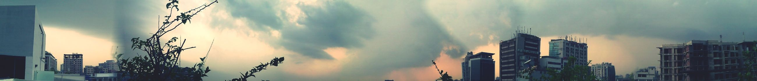 Sky And Clouds Cityview Dhaka Sky