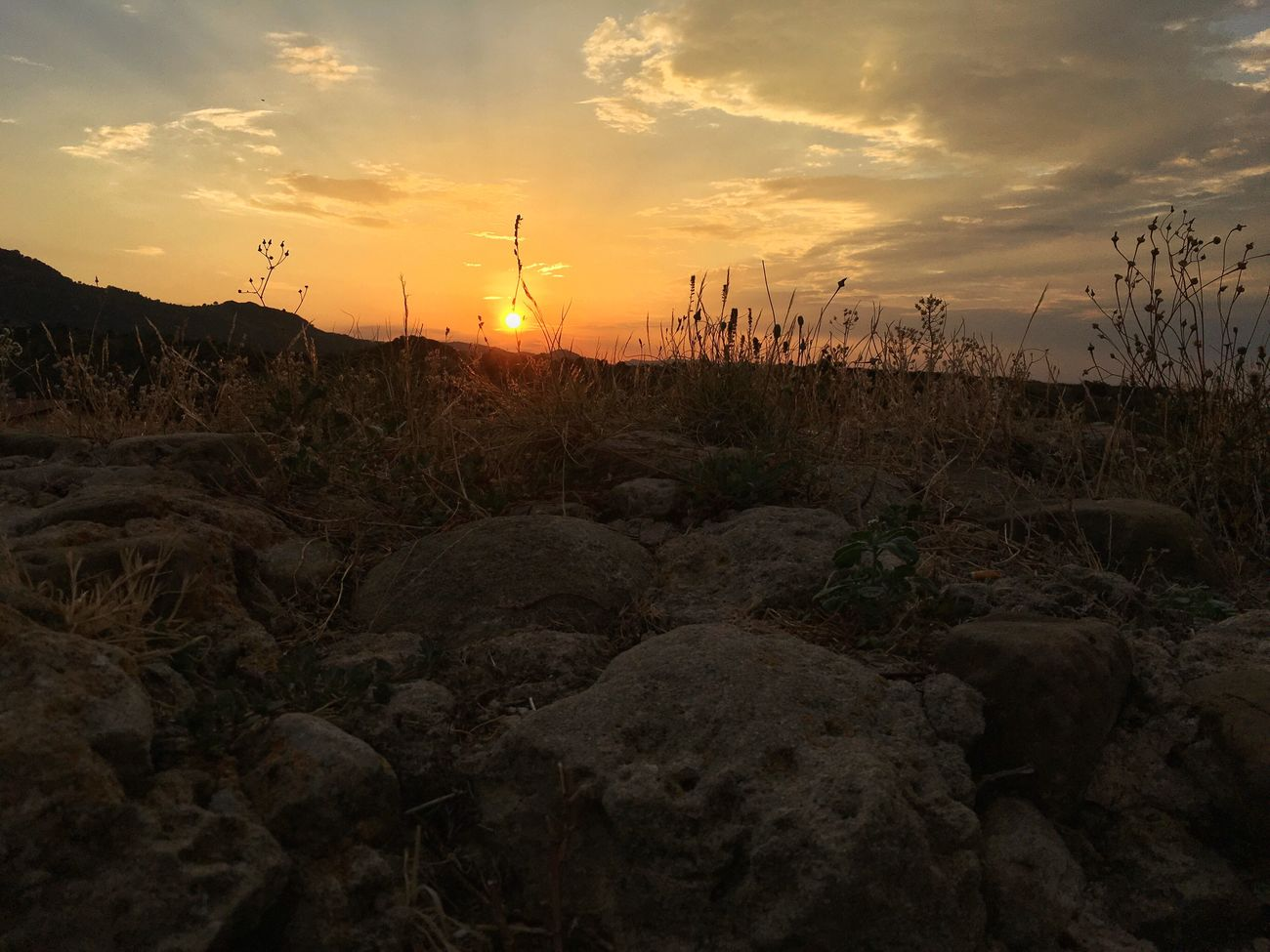 Light And Shadow Sun Beauty In Nature Landscape Nature Sky Dramatic Sky Sunset Sunset_collection Panorama Summertime Italia Calabria My Favorite Place Italy Summer Outdoors Orange Color Tranquility Taking Photos