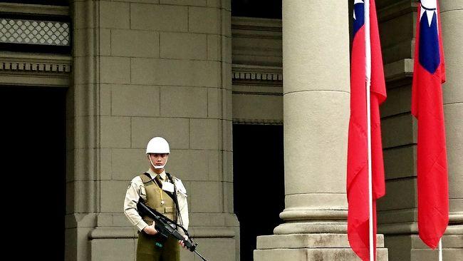 520 Taiwan Military Police Inauguration Preparations Female President