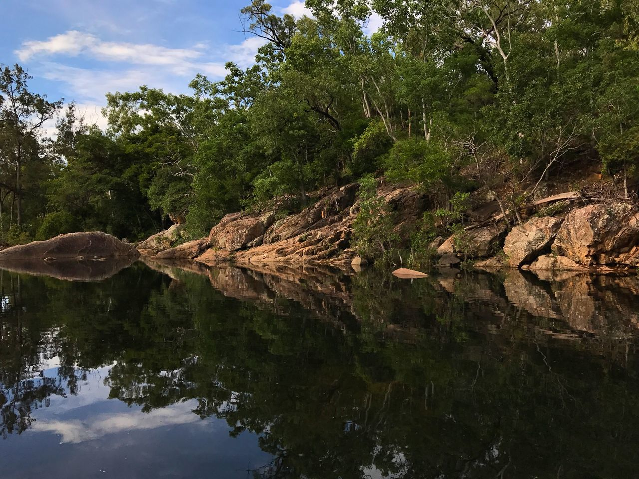 Alligator Creek, Mount Elliot near Townsville, Queensland, Australia. Nature Reflection Tree No People Forest Tranquility Outdoors Water Beauty In Nature Day Woodlands Australia Travel Destinations Tranquil Scene Scenics