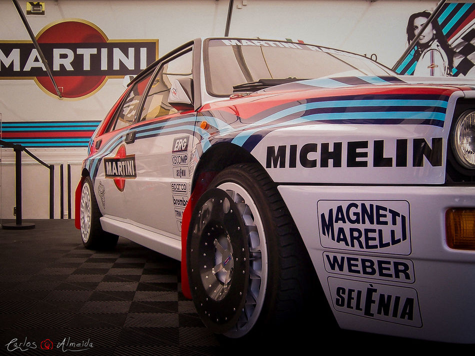 "Title: ""Martini Lancia Delta HF Integrale 16V"" Place: Santa Maria da Feira, Portugal Date: 06-06-2010 - 15h40 Camera: KODAK DX7440 Software: Adobe Photoshop Lightroom (color correction + image crop) Photo rights reserved © Carlos 'Ammok' Almeida 4wd Ammok Car Carro Lancia Martini Pneu Rallye"