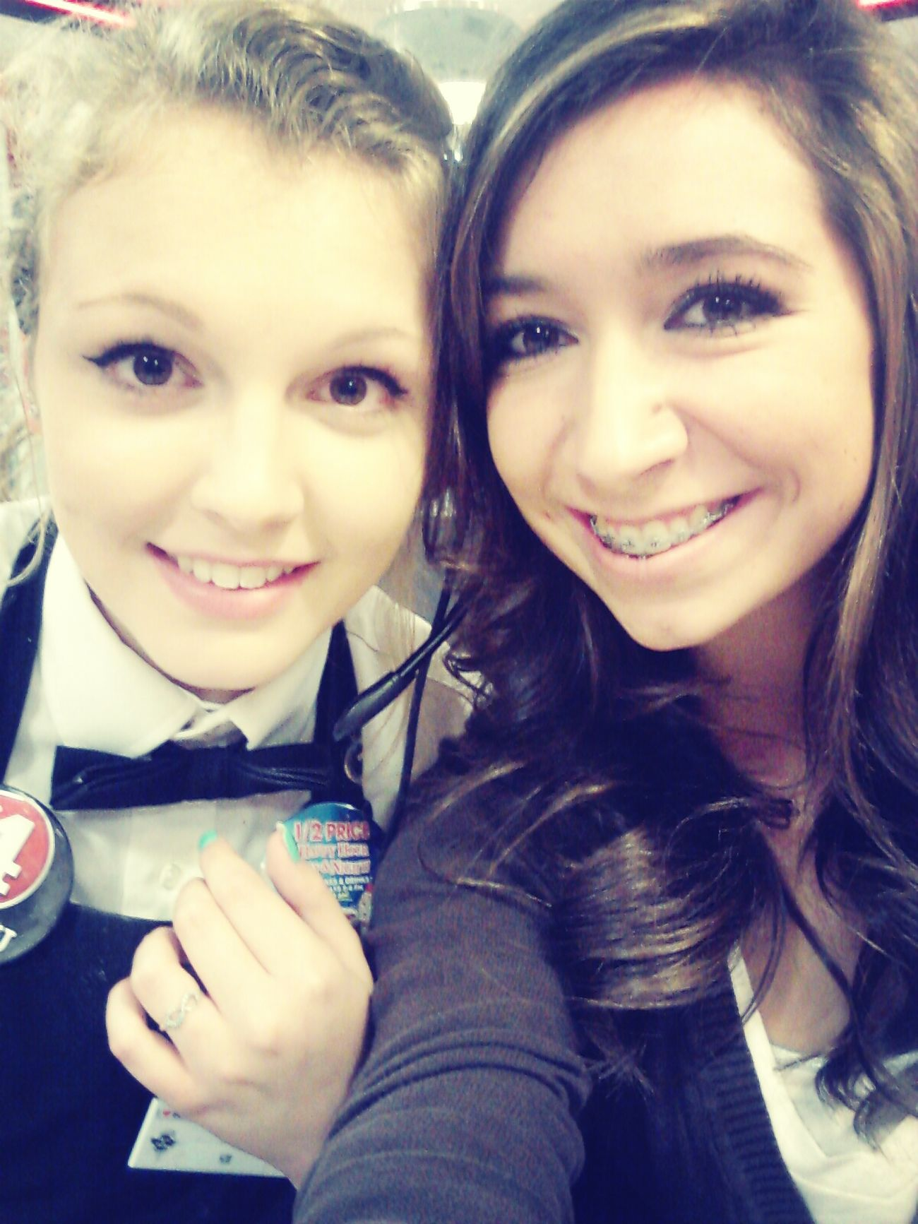 Visited Kim Kim at work!!! <3