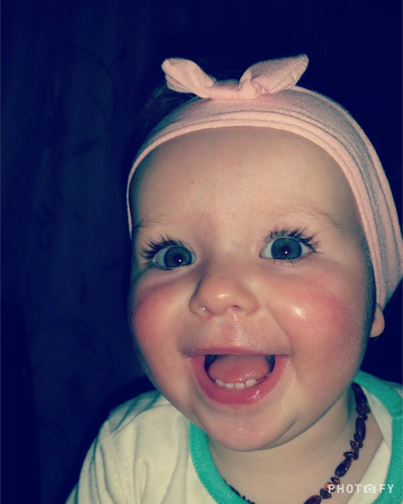 Beautiful Smile My Baby Girl Love You Laughing Out Loud Headband