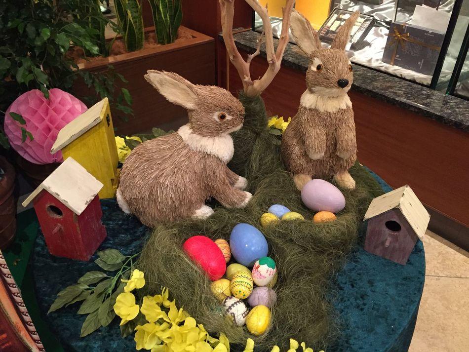 ウサギの人形