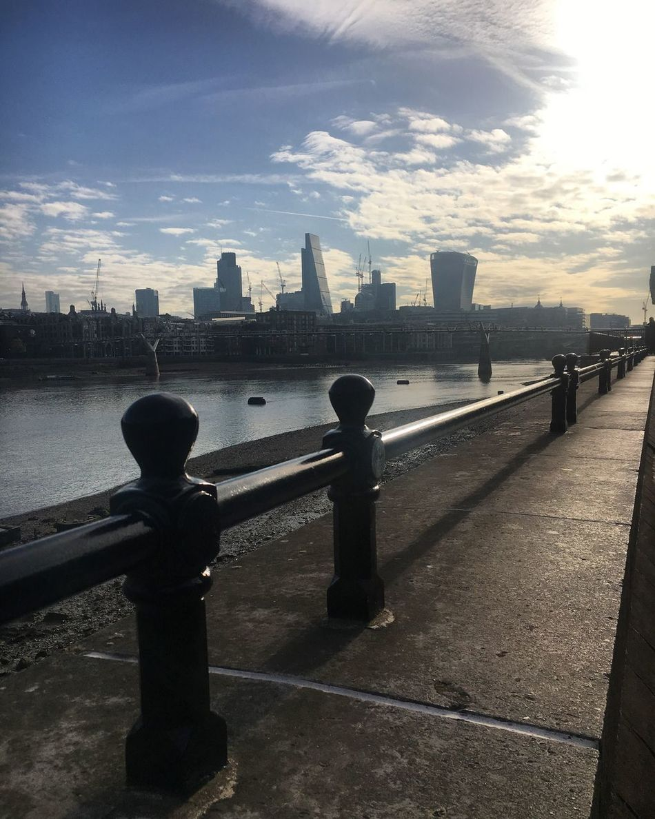 London Blackfriars Millenium Bridge Thames Leadenhall Building Sky Garden