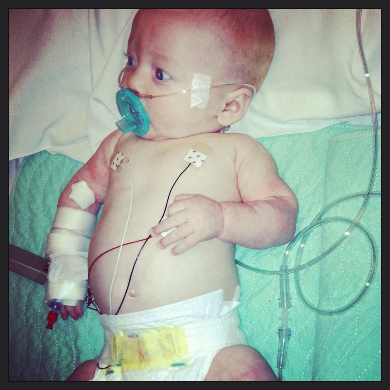 Sick Baby, Hospital :/