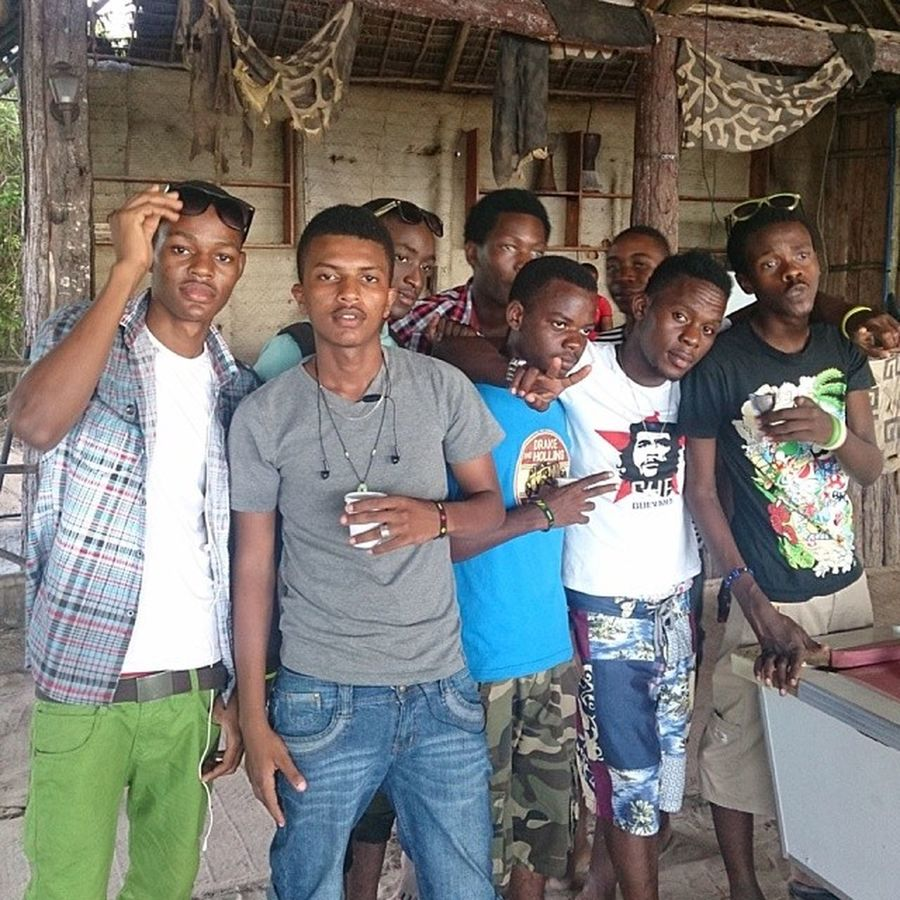 Mbudya Friends Instafun Weekendout chillspot island teambata