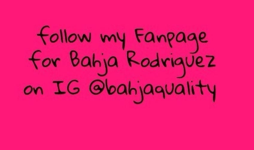 Follow my IG @bahjaquality