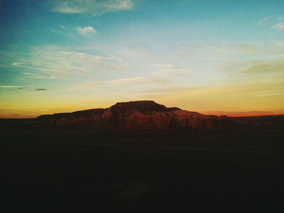 Sunset Landscape Beauty In Nature Scenics Nature Sky Dramatic Sky Tranquility Tranquil Scene No People Outdoors Agriculture Day NewMexicoTRUE Newmexicophotography Newmexicoskies Newmexicosunset Newmexicosunsets Rural Scene Newmexicoweather Newmexicomountain