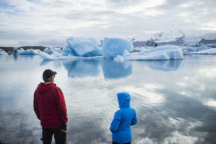 How Do You See Climate Change? Iceland Icebergs Jökulsárlón Defrost Globalwarming