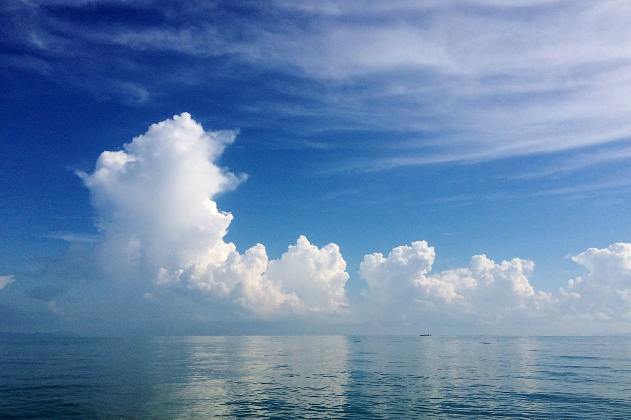 Life of Pi Thailand Sea Sea And Sky Clouds And Sky Clouds Cloudscape Nakhon Si Thammarat Don Sak