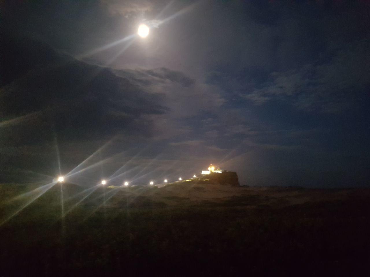 Night Sky Illuminated Outdoors Cloud - Sky No People Scenics Nature Beauty In Nature Moon Stadium Star - Space Newcastle Summer ☀ Natural Phenomenon Astronomy