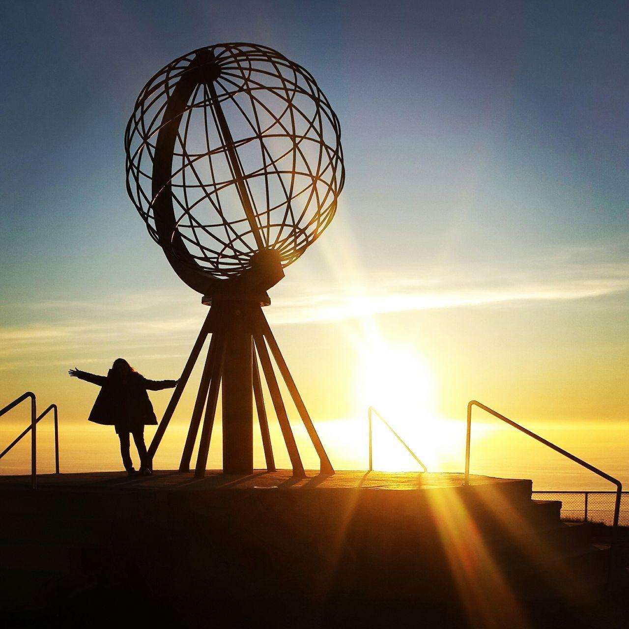 Midnight Sun Midnightsun Nordkapp Norway Colour Of Life