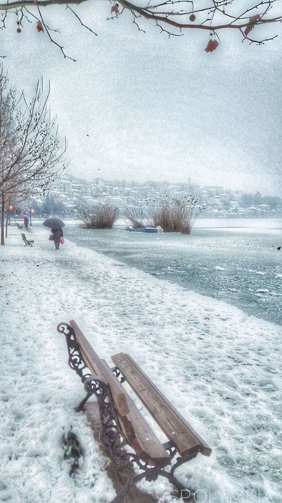 Kastoria winter2017 Winter Cold Temperature Snow Nature Beauty In Nature Weather Traditional Culture Enjoying The View Hellas Travels Travellers City View  GREECE ♥♥ Travelling Streetphotography Nature Famous Place Travel Photography Travel Destination View Travel Destinations Beauty In Nature Cultures Beautiful Nature Travel
