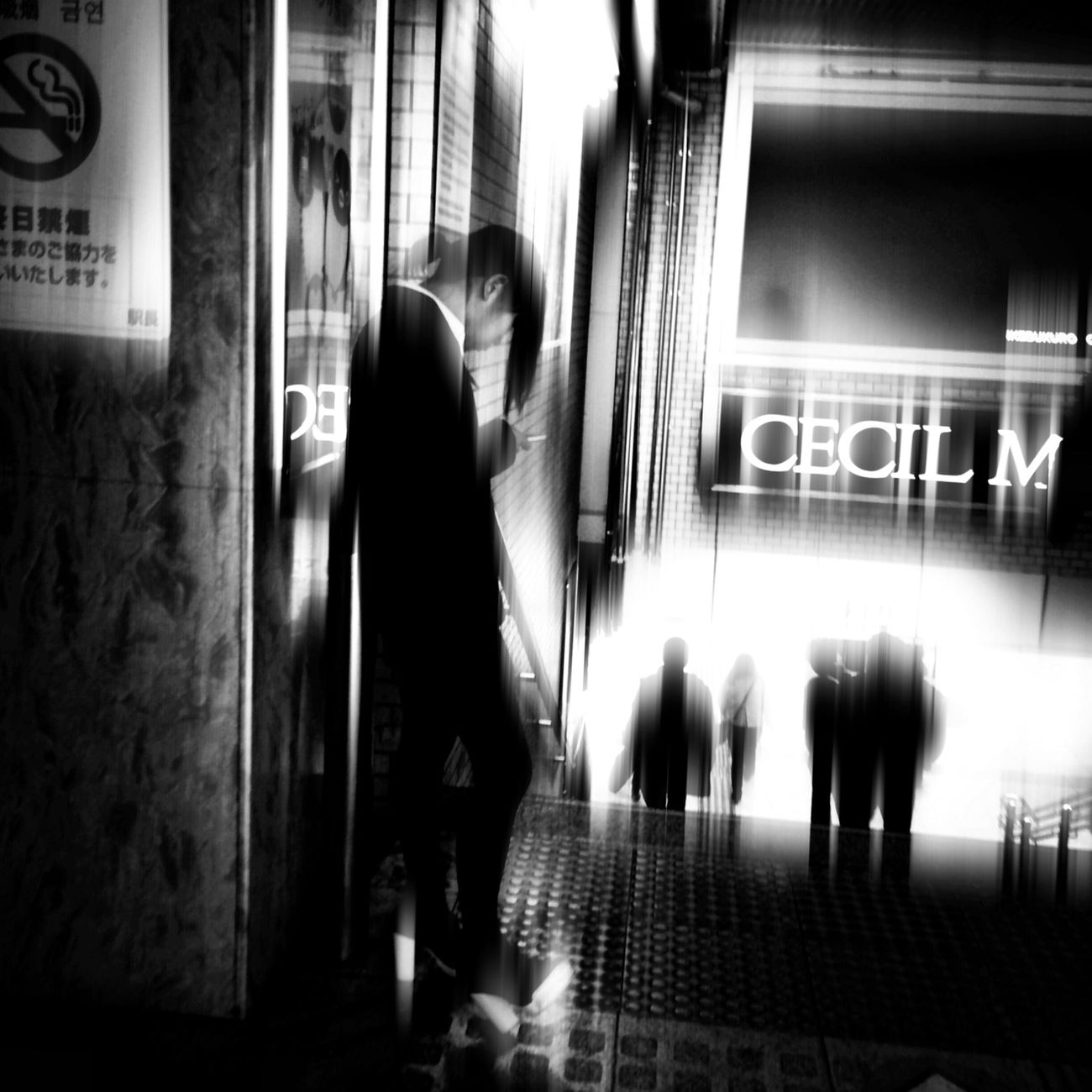 Streetphoto_bw Streetphotography Blackandwhite The Illuminator - 2014 EyeEm Awards