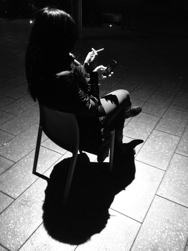 Blackandwhite in Shadows & Lights creates a Silhouette shrouded in Mystery