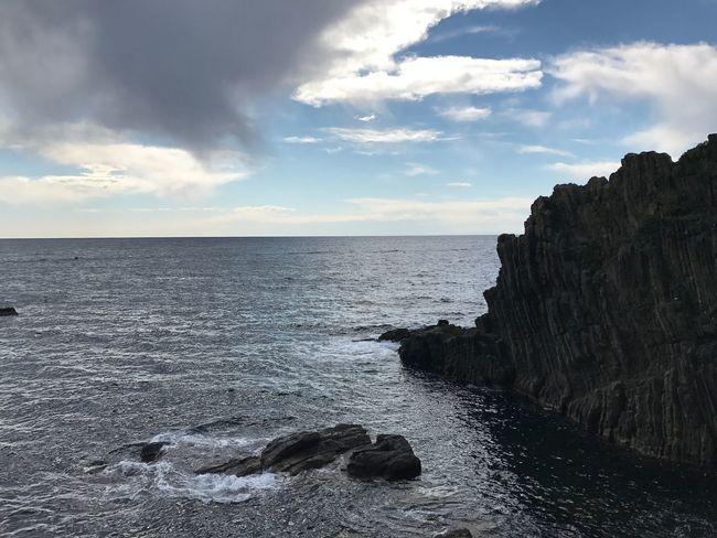 The Mediterranean Sea Sky Cinque Terre Riomaggiore