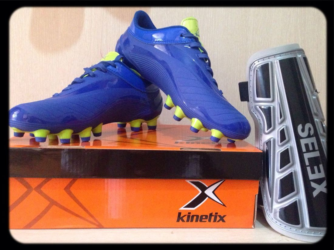 My new shoes for football ⚽️❤️?