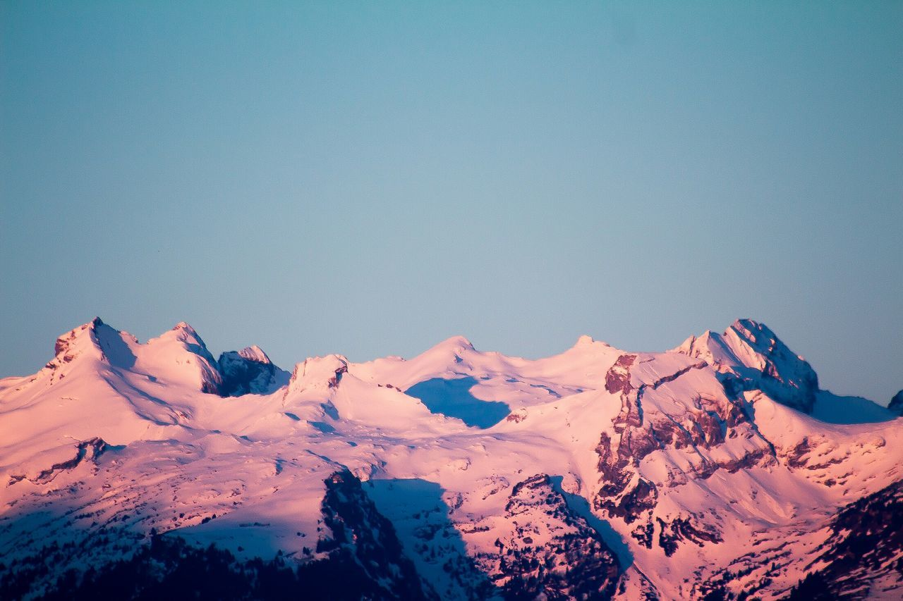Beautiful stock photos of mountains, Beauty In Nature, Clear Sky, Cold Temperature, Day