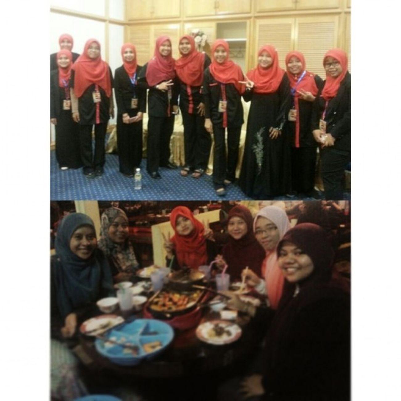7 days of memories Day 2 - hang out with ajk anugerah kenang jasa (akj) the night before akj event.. Campakbelakang Siangmalamhappy MakanSampaiLebam Besties akjuum