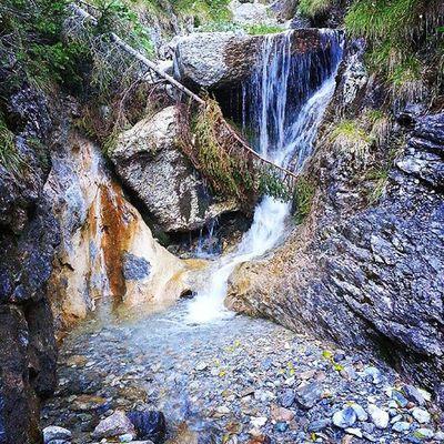 Davos Schweiz Waterfall Schatzalp Amazing Nature Silence