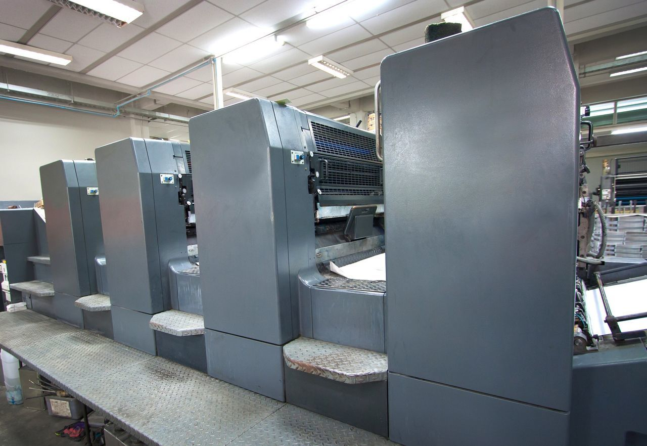 Process Technology Production Indoors  Book Offset Printing Printing House Offset Press Printingpress Printing Machine Printing Printing Press Print CMYK