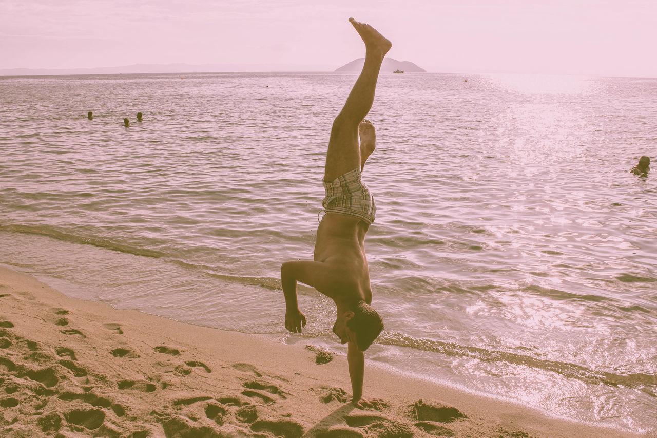 Beautiful stock photos of holiday, Balance, Beach, Carefree, Coast