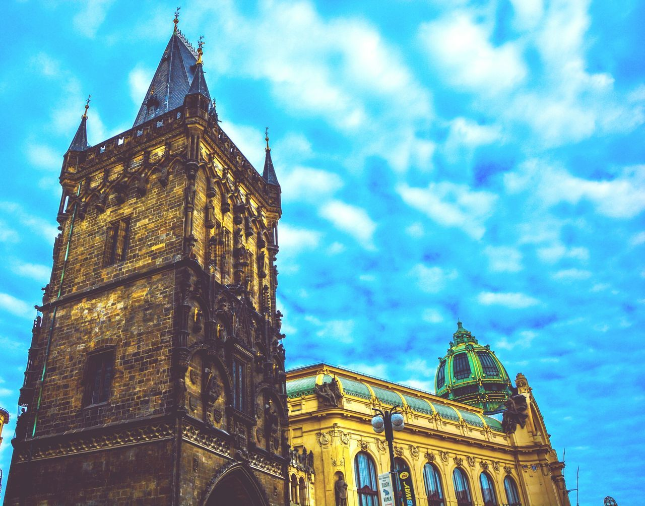 Beautiful stock photos of prague, Architecture, Blue, Building Exterior, Built Structure