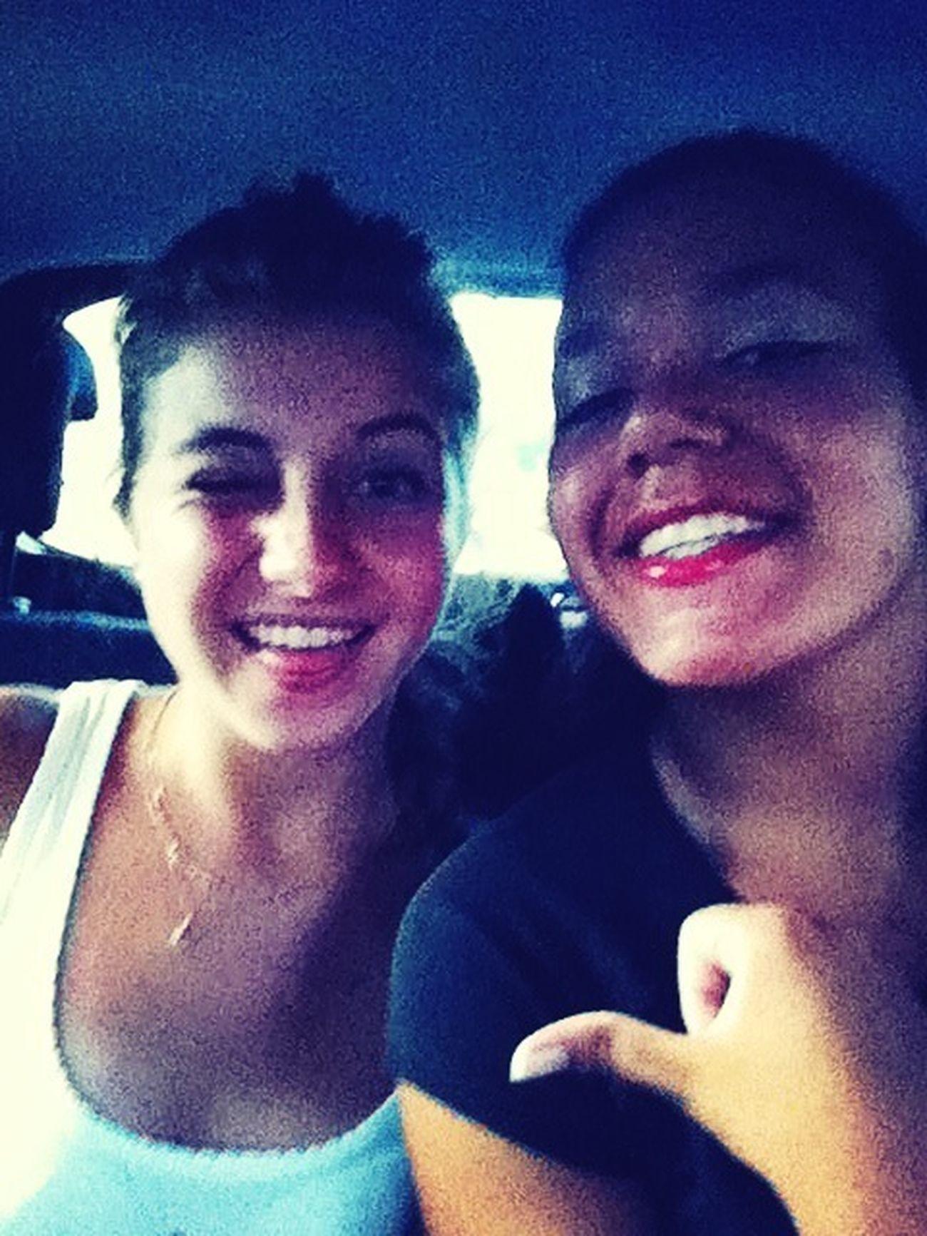 dernier moment ensemble en Guadeloupe ! :((((((