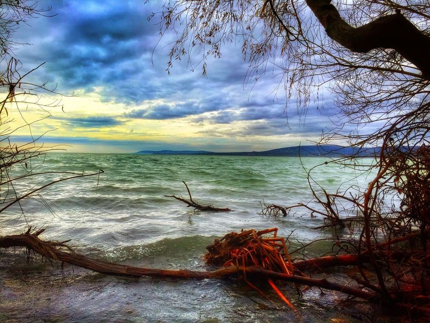 Clouds And Sky Clouds Nature Nature_collection Landscape Sunset Balaton