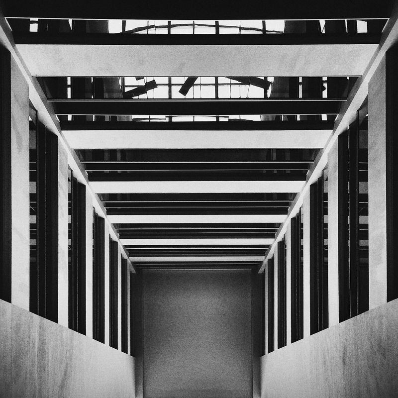 Architecture Urban Geometry Black & White Monochrome Photography