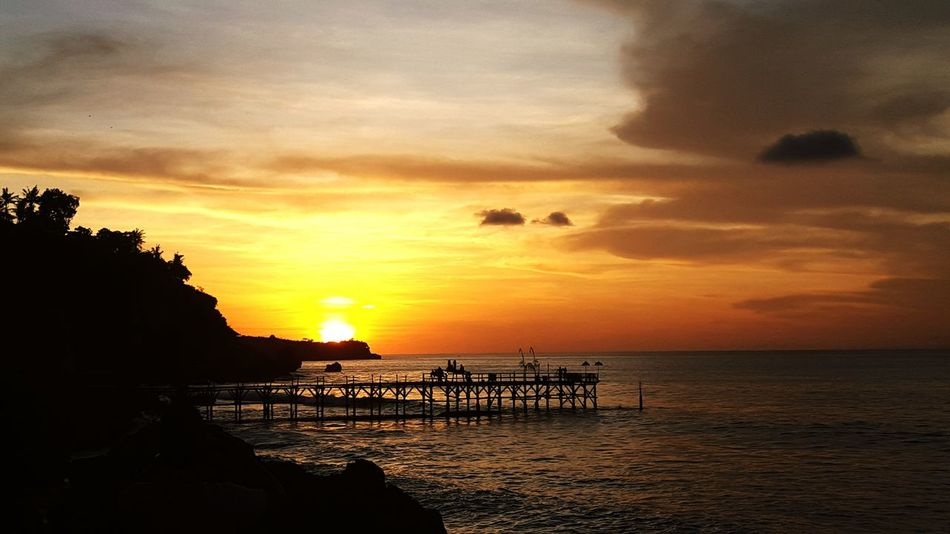 Landscapes With WhiteWall Sunset In Bali