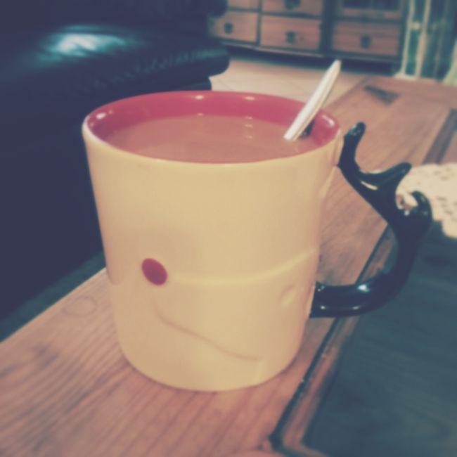 Käffchen mit gaaaanz viiiiieeel Milch Starbucks Coffee Rudolph