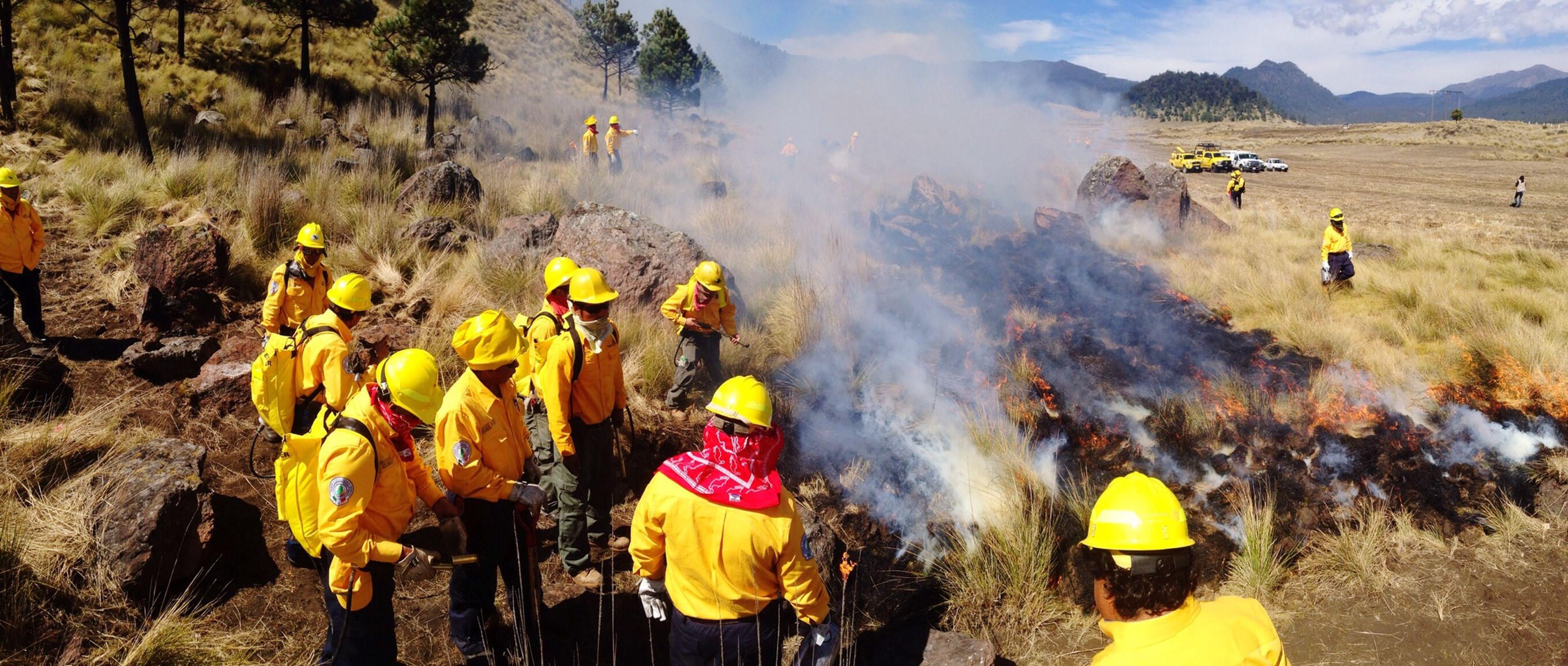 Cerro Media Luna, Huitzilac, Morelos Incendios Forestales Línea Negra Prevención Manejo De Fuego CONAFOR