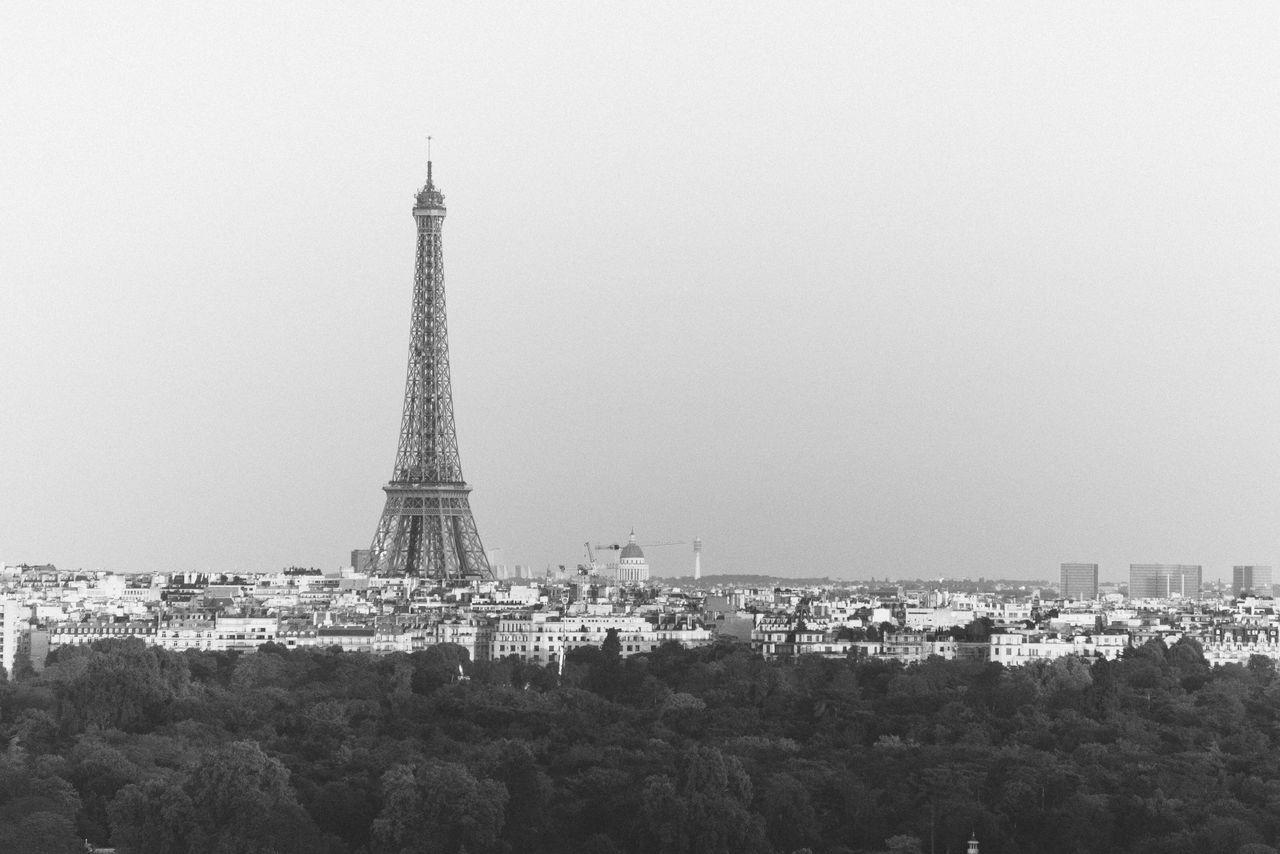 Cityscape Paris Monochrome Blackandwhite