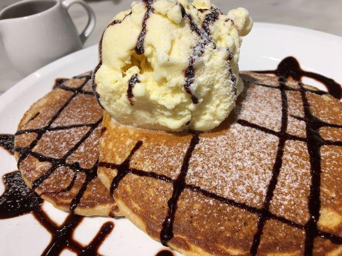 มันช่างดีงามอะไรเช่นนี้ Food And Drink Dessert Pancake Time For Dessert!