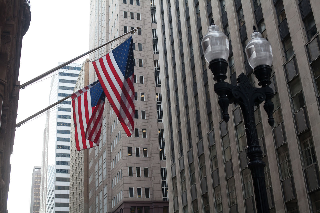 Beautiful stock photos of american flag, American Flag, Architecture, Building Exterior, City