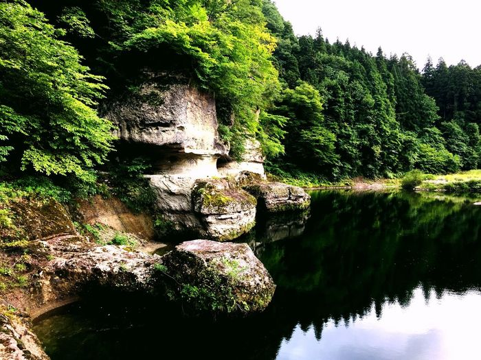Japan Aizu Hetsuri River Nature