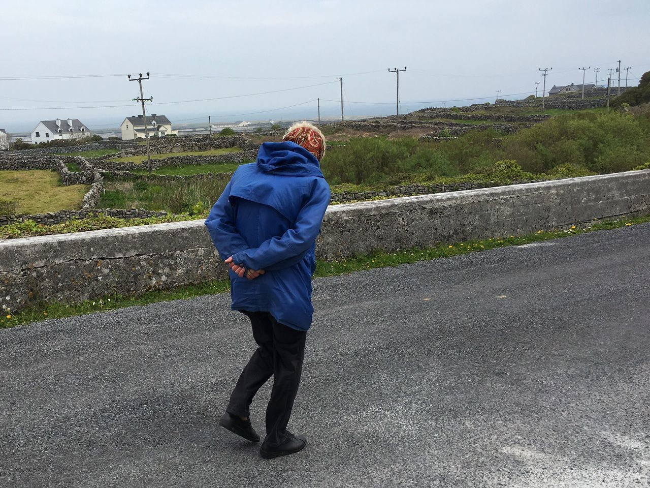 The Journey Is The Destination Walking Around Out For A Walk Inishmaan Ireland On The Way
