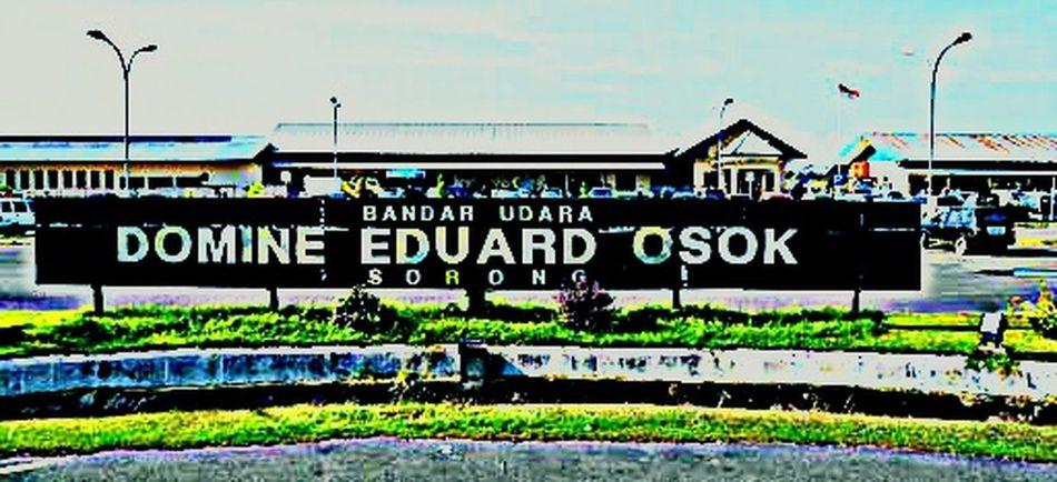 Bandara Domine Eduard Osok SorongPapua