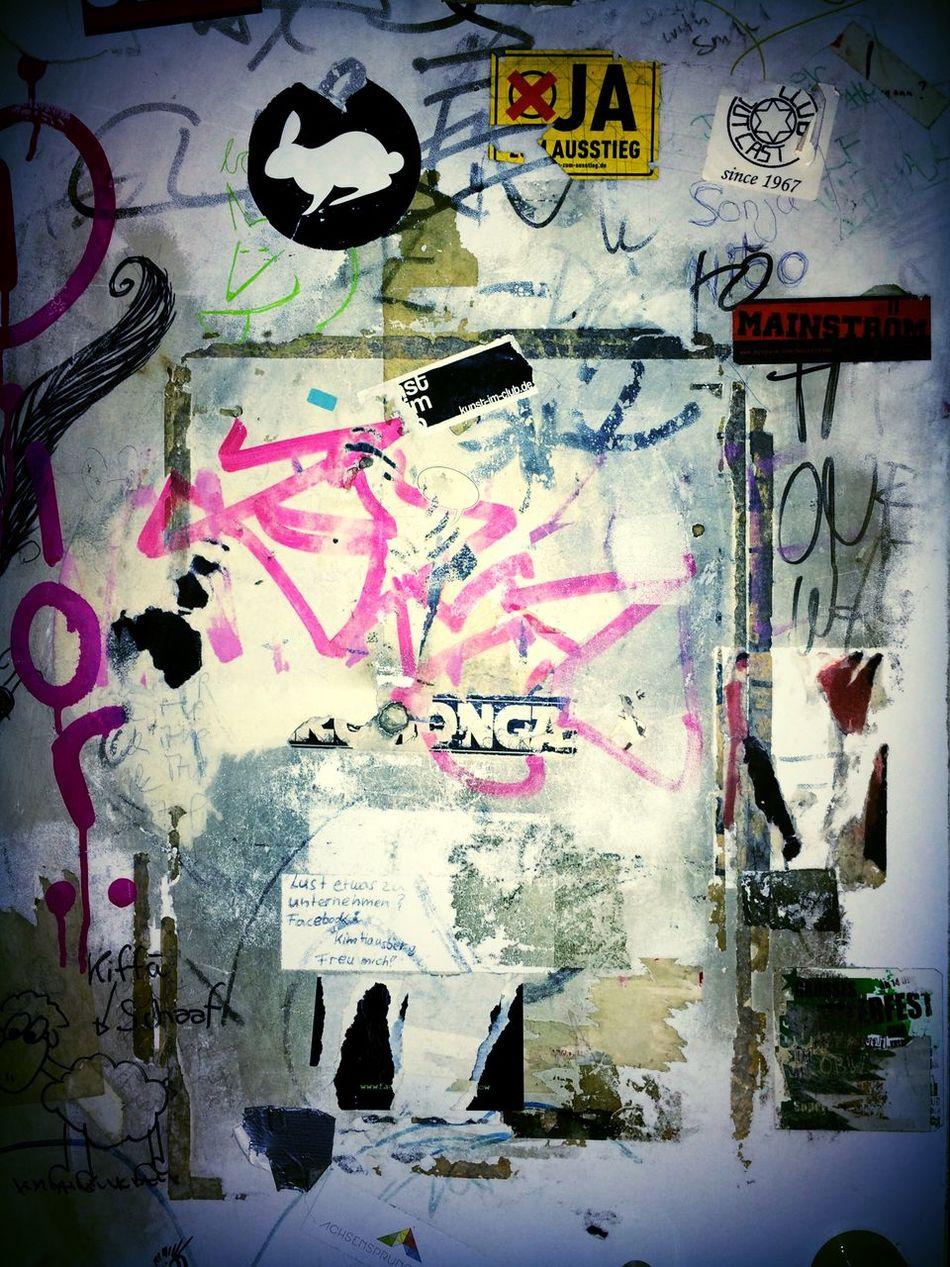 Streetart Graffiti Type Vandalism