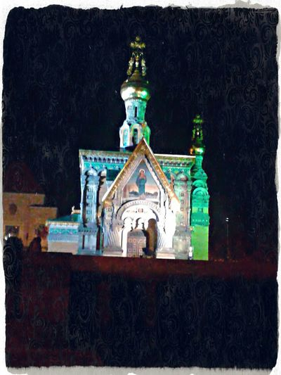 Walking Around at Night see Russia Churches