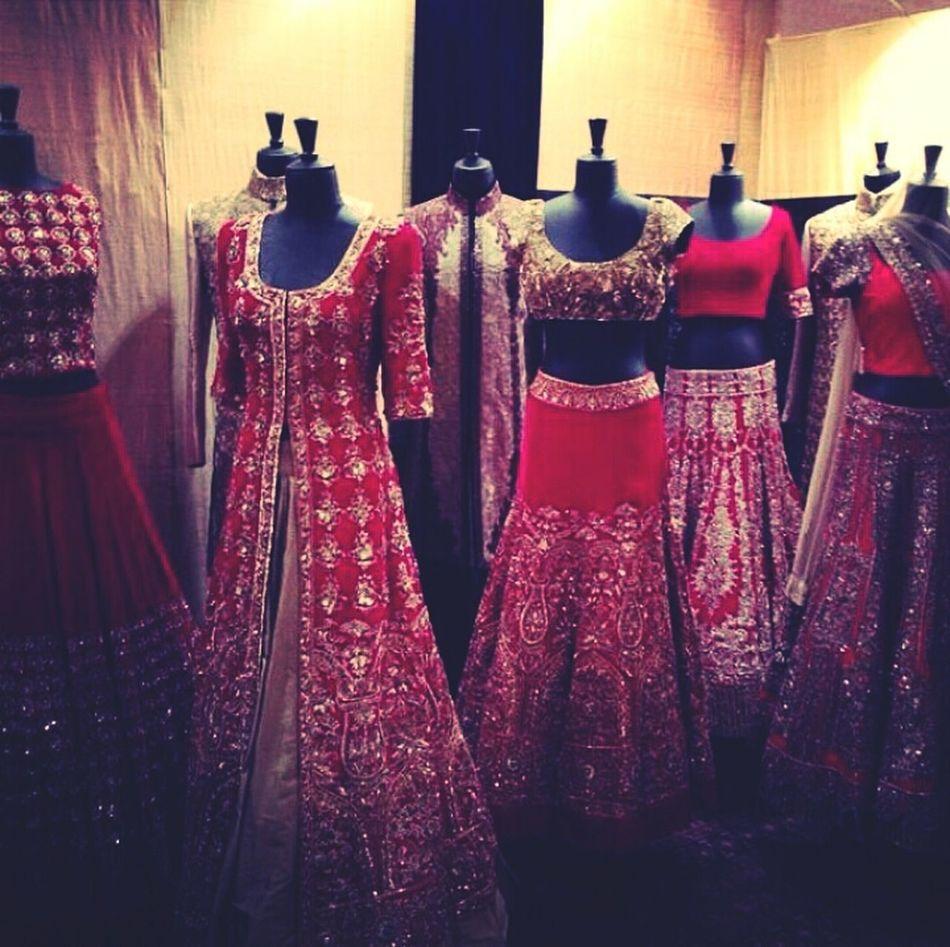 Red Wedding Dress Couture Manish Malhotra