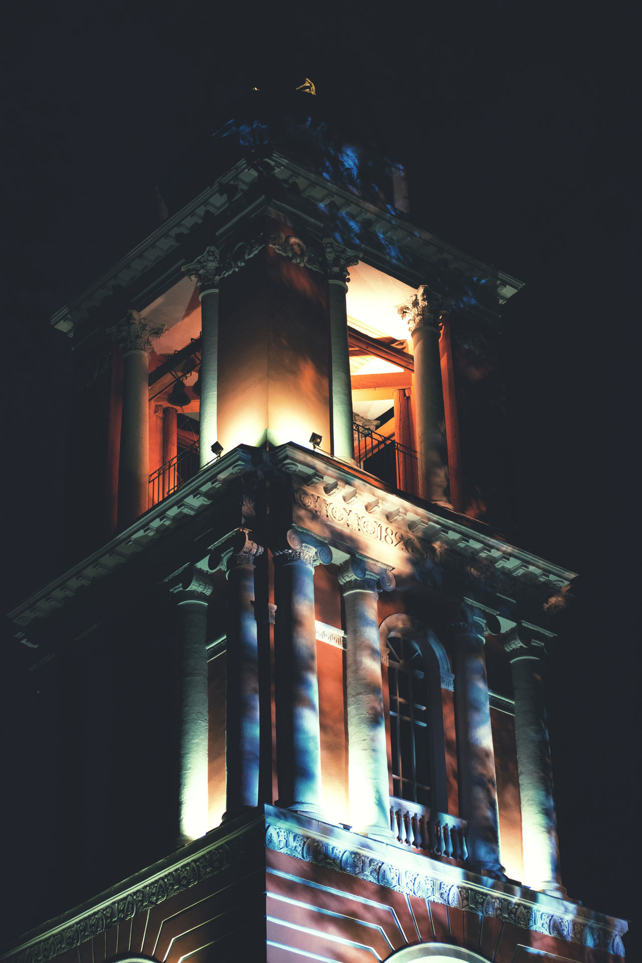 Architectural Column Architecture Building Building Exterior Built Structure Cathedral Church City Lights Color Colorful Colors Column Historic Light And Shadows Lighting Equipment Lights Moscow Moscow City Moscow, Москва Night Lights Old Russia Shadows Shadows & Lights Window