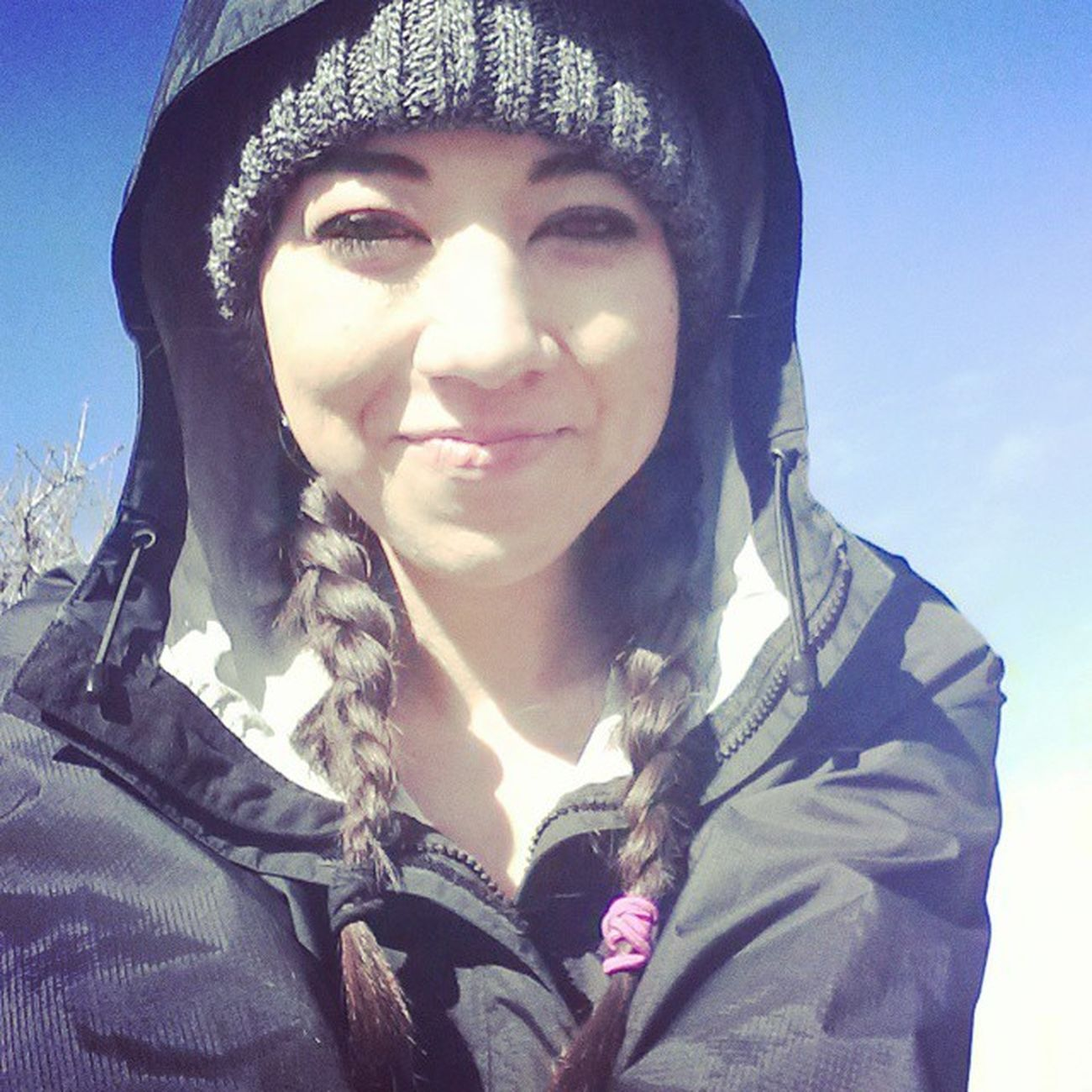 Hiked manastash, was chilly at the top but woo made it!!!!