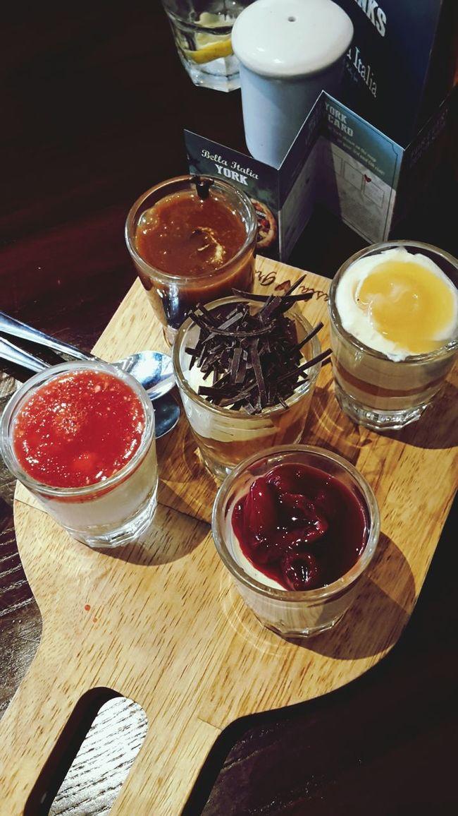 Shotglassdeserts Dessert Yummy Bellaitalia  York Girlsdayout Food Sweetooth